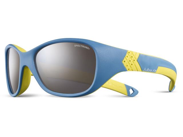 Julbo Solan Spectron 3+ Sunglasses Kids 4-6Y blue/yellow-gray flash silver